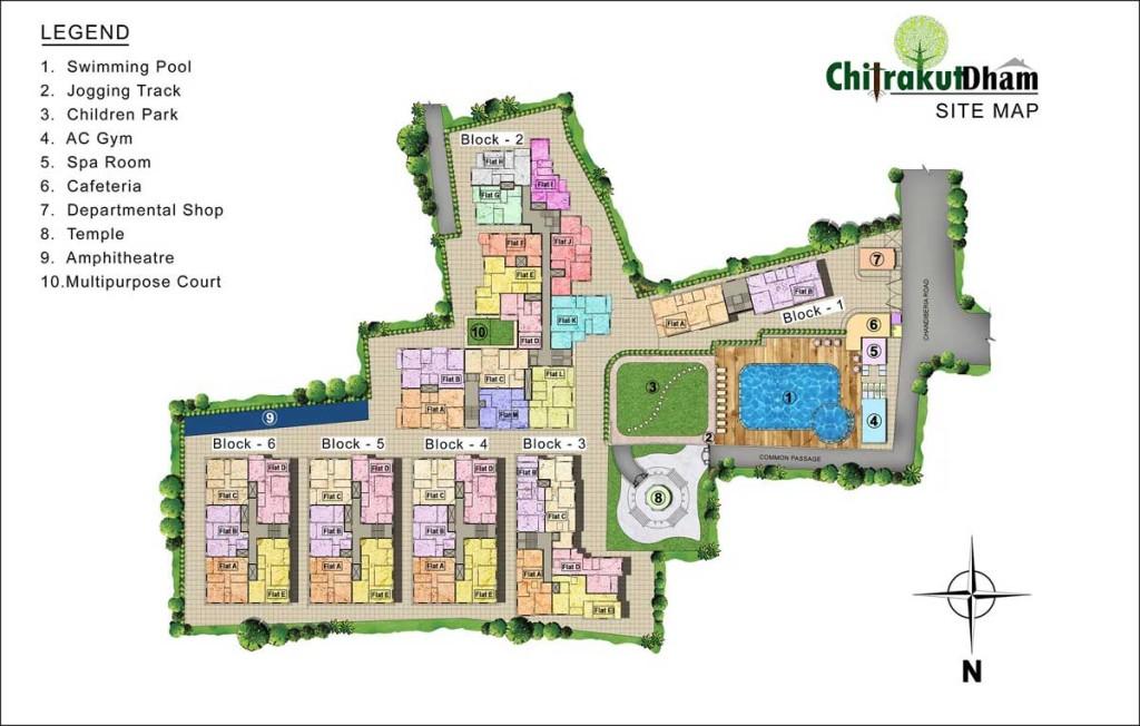 Chitrakut-Site-Plan
